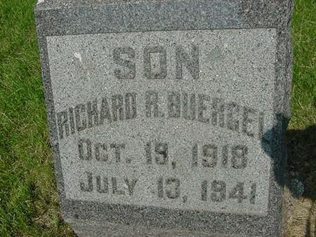BUERGEL, RICHARD R - Scott County, Iowa | RICHARD R BUERGEL