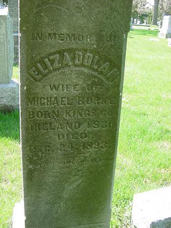DOLAN BURKE, ELIZA - Scott County, Iowa | ELIZA DOLAN BURKE