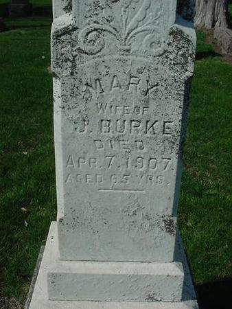 BURKE, MARY - Scott County, Iowa | MARY BURKE