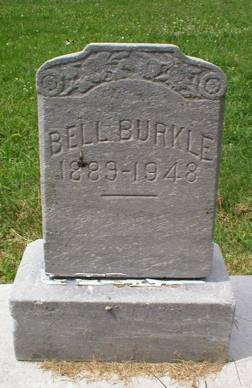 BURKLE, BELL - Scott County, Iowa | BELL BURKLE