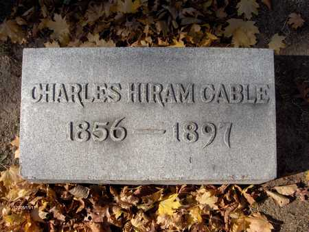 CABLE, CHARLES HIRAM - Scott County, Iowa | CHARLES HIRAM CABLE
