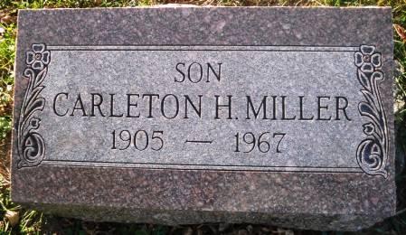 MILLER, CARLETON H. - Scott County, Iowa | CARLETON H. MILLER