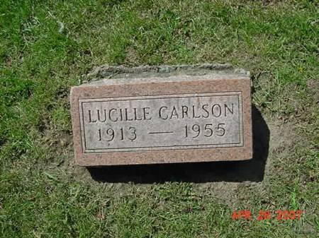 CARLSON, LUCILLE - Scott County, Iowa   LUCILLE CARLSON
