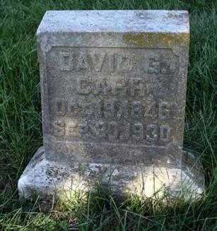 CARR, DAVID G. - Scott County, Iowa | DAVID G. CARR