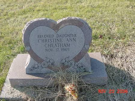 CHEATHAM, CHRISTINE ANN - Scott County, Iowa | CHRISTINE ANN CHEATHAM
