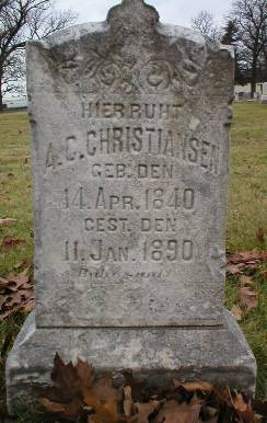 CHRISTIANSEN, A. C. - Scott County, Iowa | A. C. CHRISTIANSEN