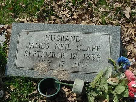 CLAPP, JAMES NEIL - Scott County, Iowa | JAMES NEIL CLAPP