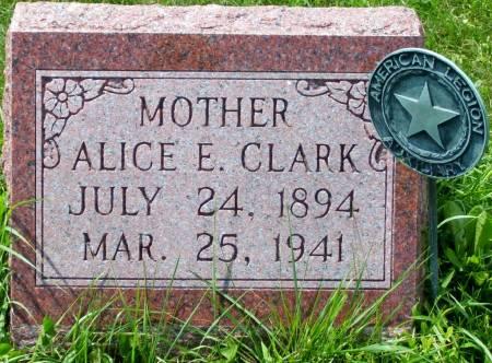 POPPE CLARK, ALICE E. - Scott County, Iowa | ALICE E. POPPE CLARK