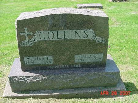 COLLINS, WILLIAM H - Scott County, Iowa | WILLIAM H COLLINS