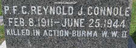 CONNOLE, REYNOLD J. - Scott County, Iowa   REYNOLD J. CONNOLE