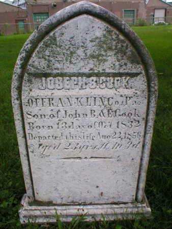 COOK, JOSEPH S - Scott County, Iowa | JOSEPH S COOK