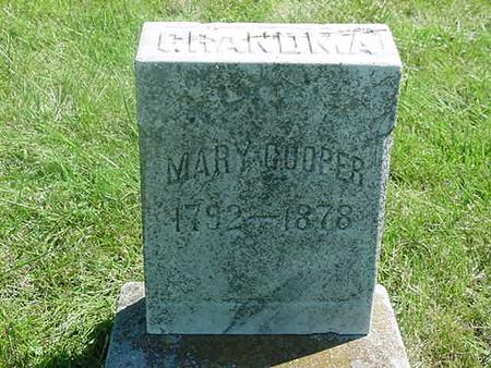 COOPER, MARY - Scott County, Iowa | MARY COOPER