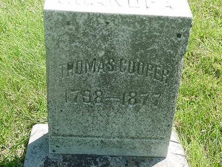 COOPER, THOMAS - Scott County, Iowa | THOMAS COOPER