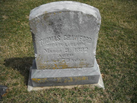 CRAWFORD, THOMAS - Scott County, Iowa   THOMAS CRAWFORD