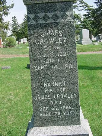 CROWLEY, HANNAH - Scott County, Iowa | HANNAH CROWLEY