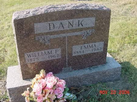 DANK, WILLIAM F - Scott County, Iowa | WILLIAM F DANK