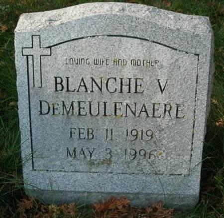DEMEULENAERE, BLANCHE V. - Scott County, Iowa | BLANCHE V. DEMEULENAERE
