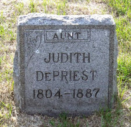 DEPRIEST, JUDITH - Scott County, Iowa | JUDITH DEPRIEST