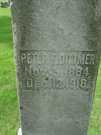 DITTMER, PETER - Scott County, Iowa | PETER DITTMER