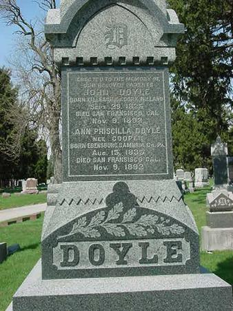 DOYLE, ANN - Scott County, Iowa | ANN DOYLE