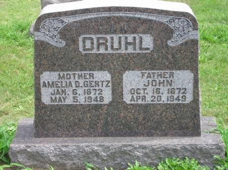 DRUHL, JOHN - Scott County, Iowa | JOHN DRUHL