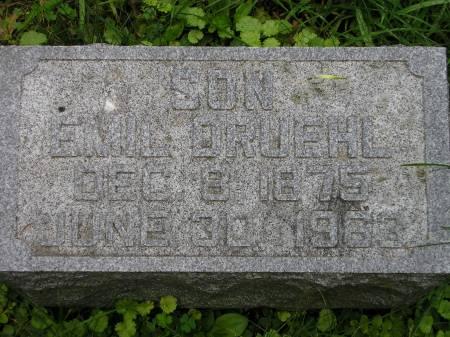 DRUEHL, EMIL - Scott County, Iowa | EMIL DRUEHL