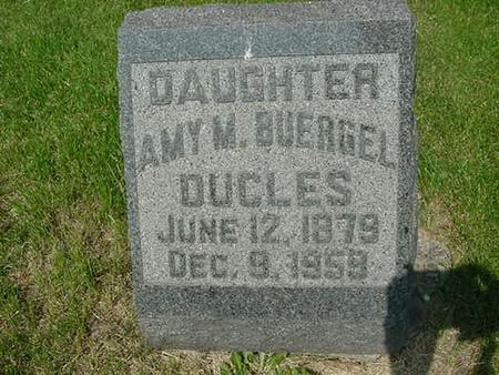 BUERGEL DUCLES, AMY M - Scott County, Iowa | AMY M BUERGEL DUCLES
