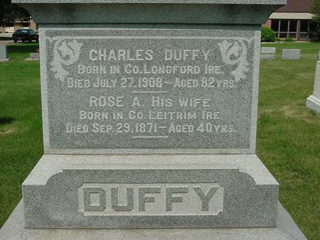 DUFFY, CHARLES - Scott County, Iowa | CHARLES DUFFY