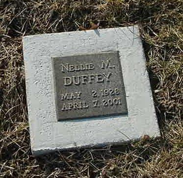 DUFFEY, NELLIE - Scott County, Iowa | NELLIE DUFFEY