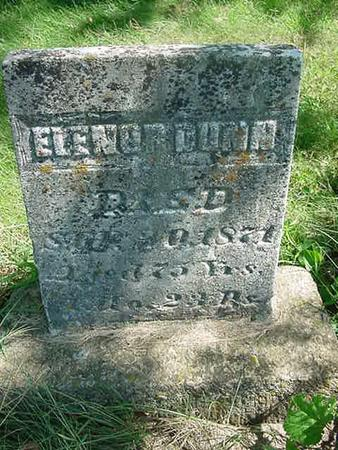 DUNN, ELENOR - Scott County, Iowa | ELENOR DUNN
