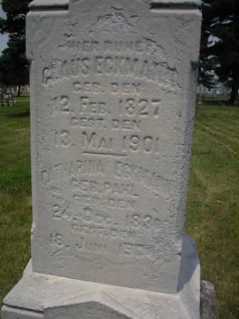 ECKMANN, CLAUS - Scott County, Iowa | CLAUS ECKMANN
