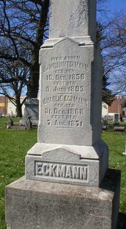 ECKMANN, WILLIAM DR. - Scott County, Iowa | WILLIAM DR. ECKMANN