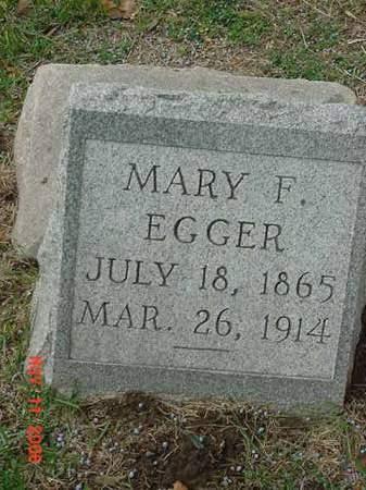 EGGER, MARY F - Scott County, Iowa | MARY F EGGER