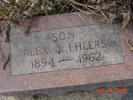 EHLERS, ALEX J - Scott County, Iowa | ALEX J EHLERS