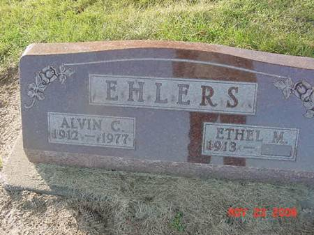 EHLERS, ALVIN C - Scott County, Iowa | ALVIN C EHLERS