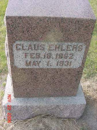 EHLERS, CLAUS - Scott County, Iowa | CLAUS EHLERS