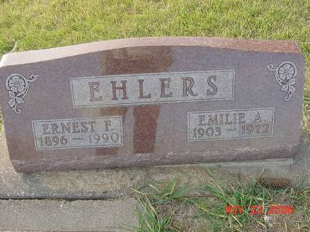 EHLERS, ERNEST F - Scott County, Iowa | ERNEST F EHLERS