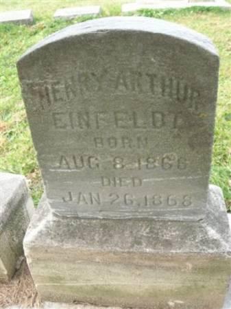 EINFELDT, HENRY ARTHUR - Scott County, Iowa | HENRY ARTHUR EINFELDT