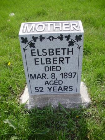 ELBERT, ELSBETH - Scott County, Iowa | ELSBETH ELBERT
