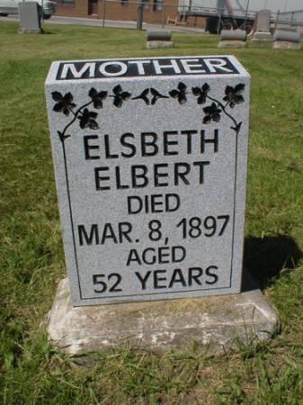 ELBERT, ELSBETH - Scott County, Iowa   ELSBETH ELBERT
