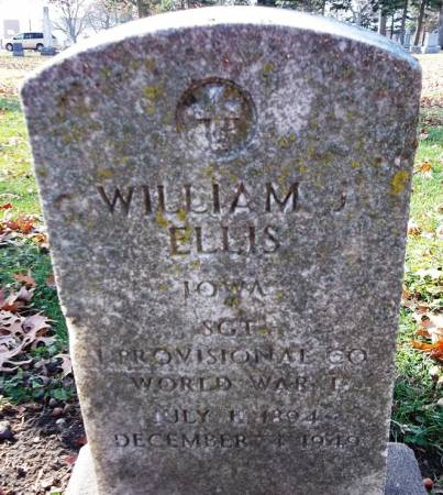 ELLIS, WILLIAM - Scott County, Iowa | WILLIAM ELLIS