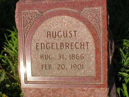 ENGELBRECHT, AUGUST - Scott County, Iowa | AUGUST ENGELBRECHT