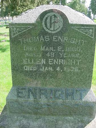 ENRIGHT, ELLEN - Scott County, Iowa | ELLEN ENRIGHT