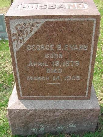 EVANS, GEORGE B - Scott County, Iowa | GEORGE B EVANS