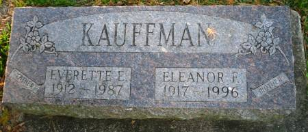 KAUFFMAN, EVERETTE E. - Scott County, Iowa | EVERETTE E. KAUFFMAN