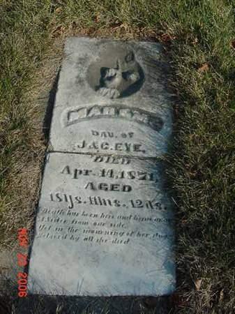 EYE, MARY M - Scott County, Iowa | MARY M EYE