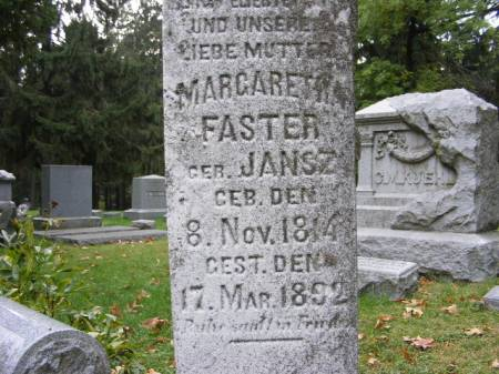 FASTER, MARGARETTA - Scott County, Iowa | MARGARETTA FASTER