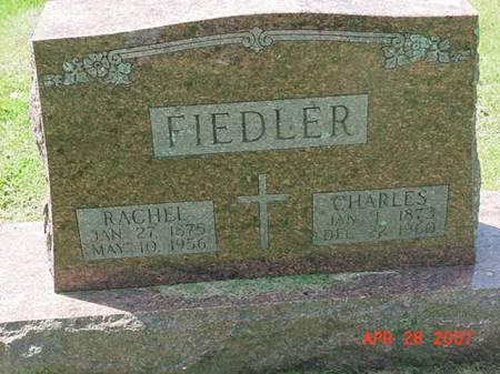 FIEDLER, CHARLES - Scott County, Iowa | CHARLES FIEDLER