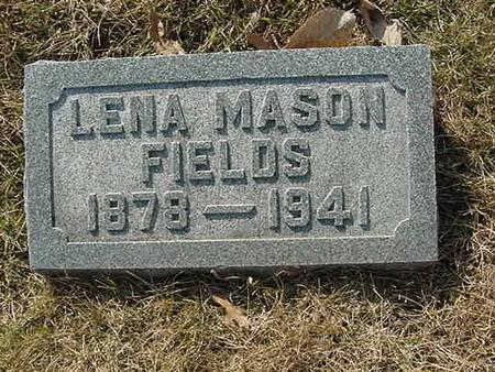 MASON FIELDS, LENA - Scott County, Iowa | LENA MASON FIELDS