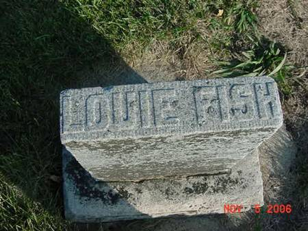 FISH, LOUIE - Scott County, Iowa | LOUIE FISH